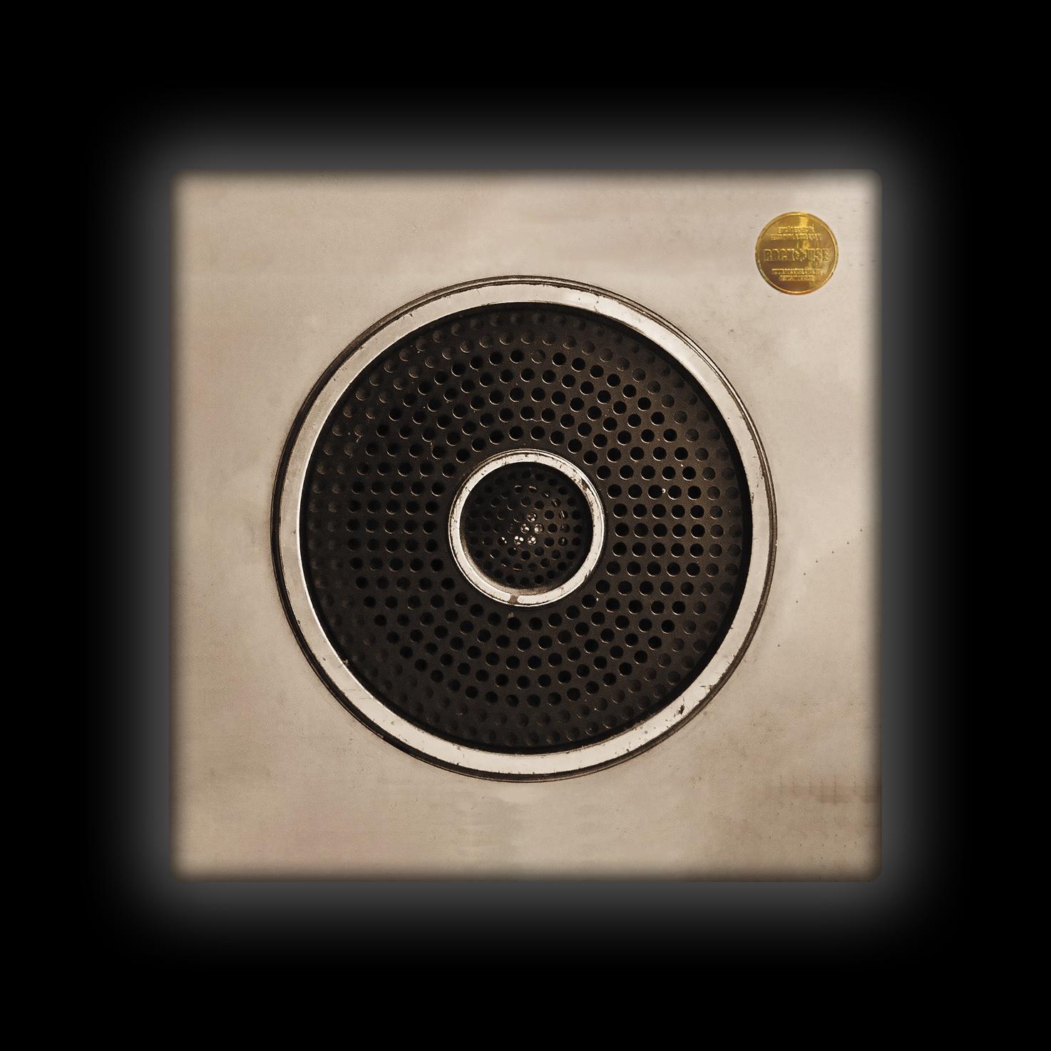 Capa de Almofada Bia Lombardi - Speaker - Sépia