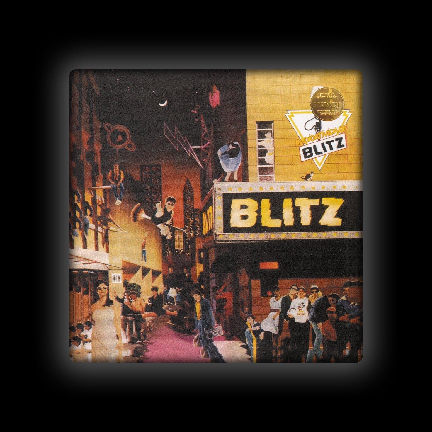 Capa de Almofada Blitz - Radioatividade