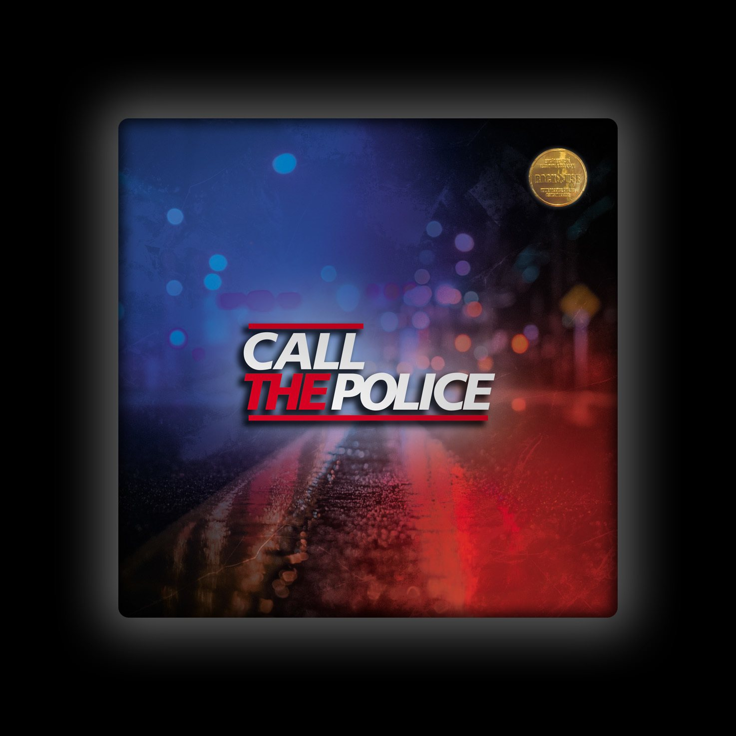 Capa de Almofada Call the Police - Lights (Color)