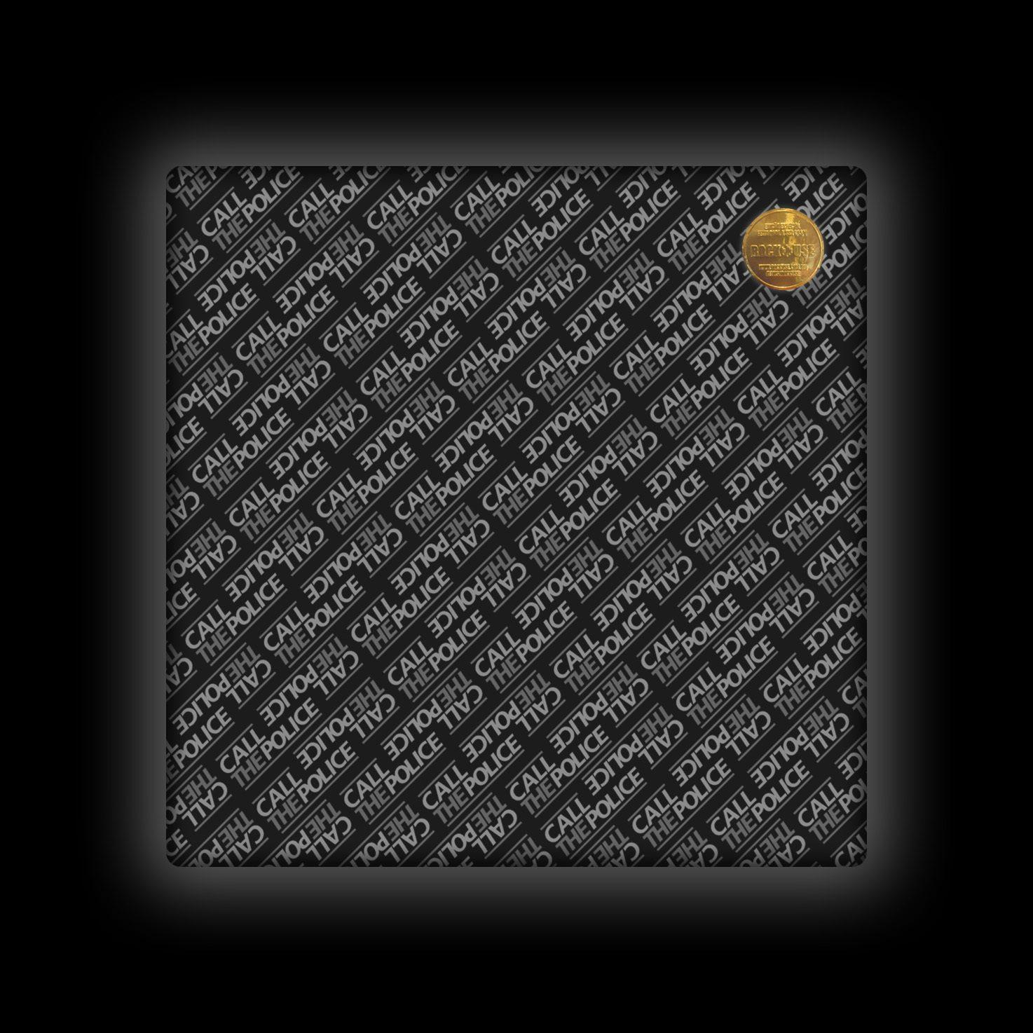 Capa de Almofada Call the Police - Wall (Black)