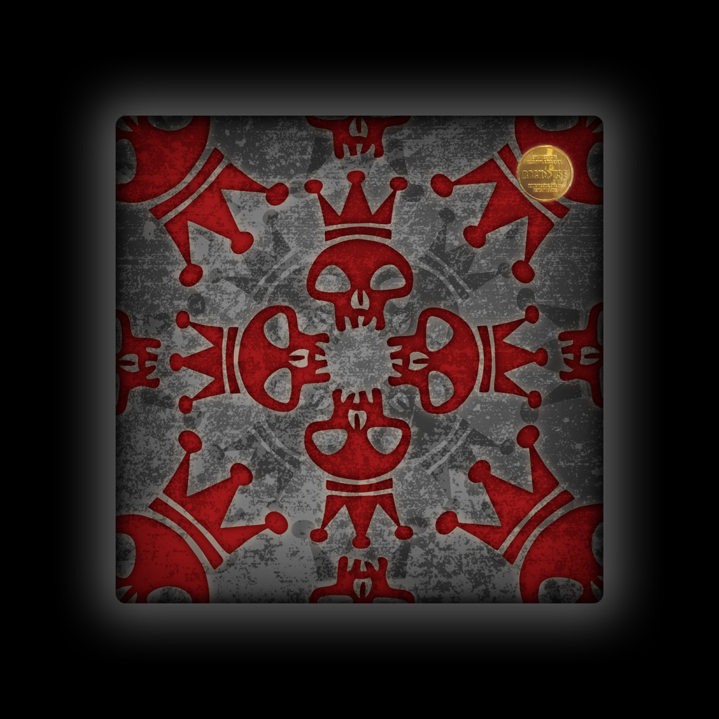 Capa de Almofada Capital Inicial - Logo Caleidoscópio