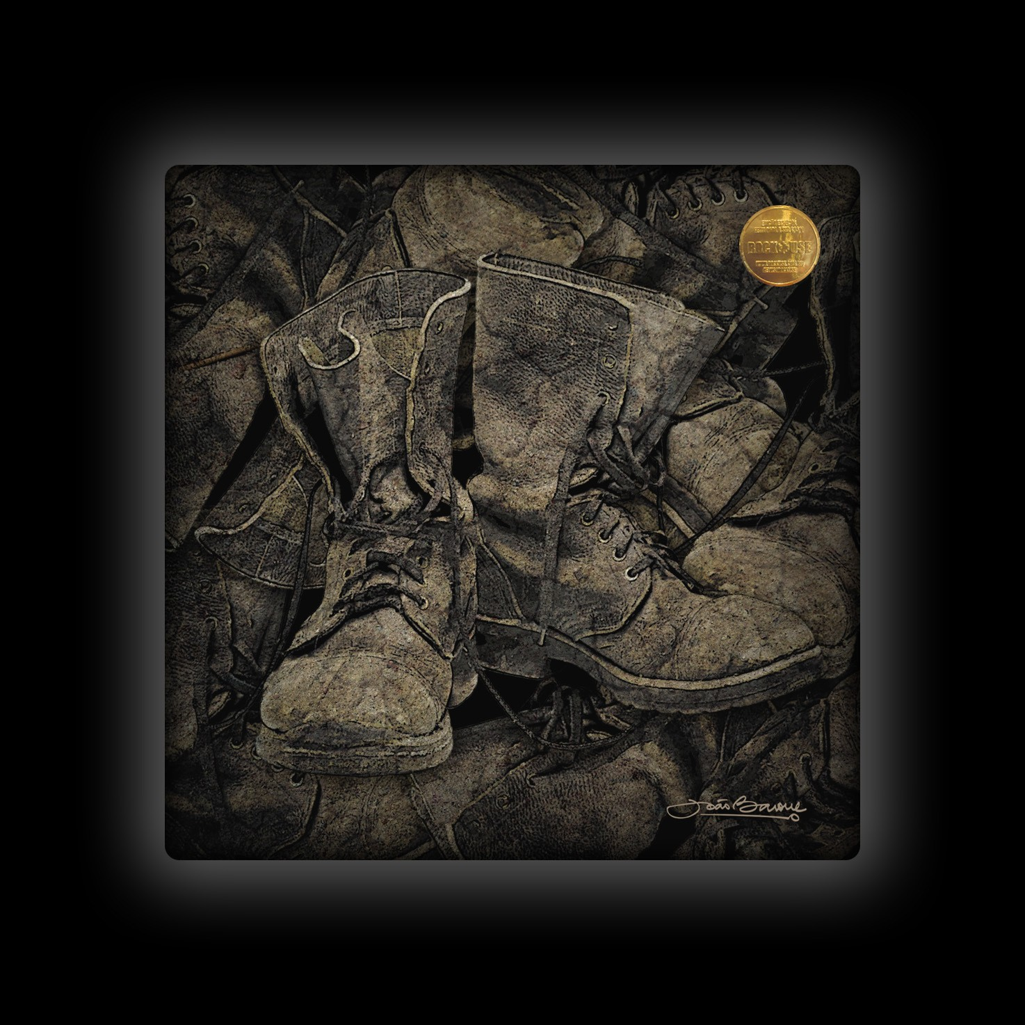 Capa de Almofada João Barone - Boots