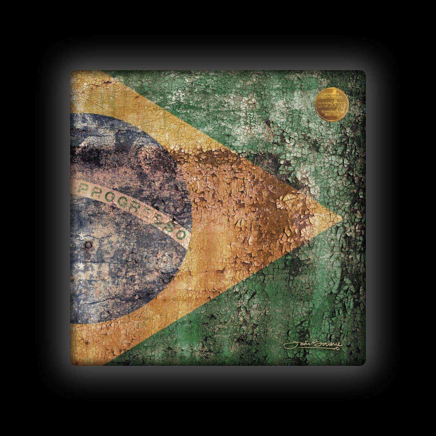 Capa de Almofada João Barone - Brasil