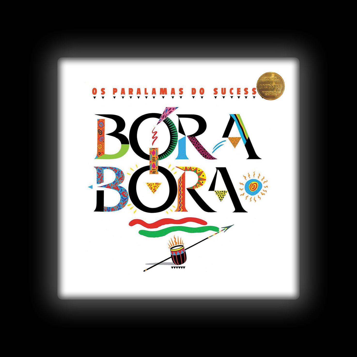 Capa de Almofada Paralamas do Sucesso - Bora Bora