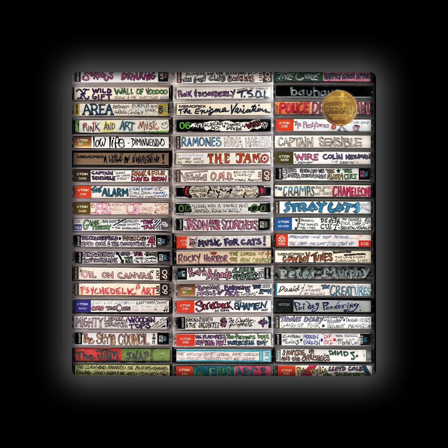 Capa de Almofada Rock Use - Fitas-Cassete