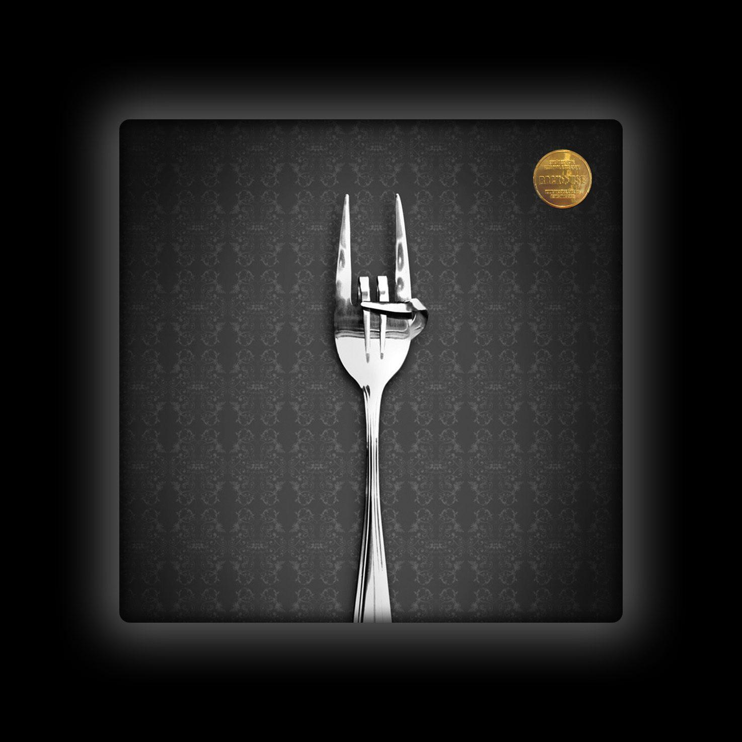 Capa de Almofada Rock Use - Fome de Rock - Cinza
