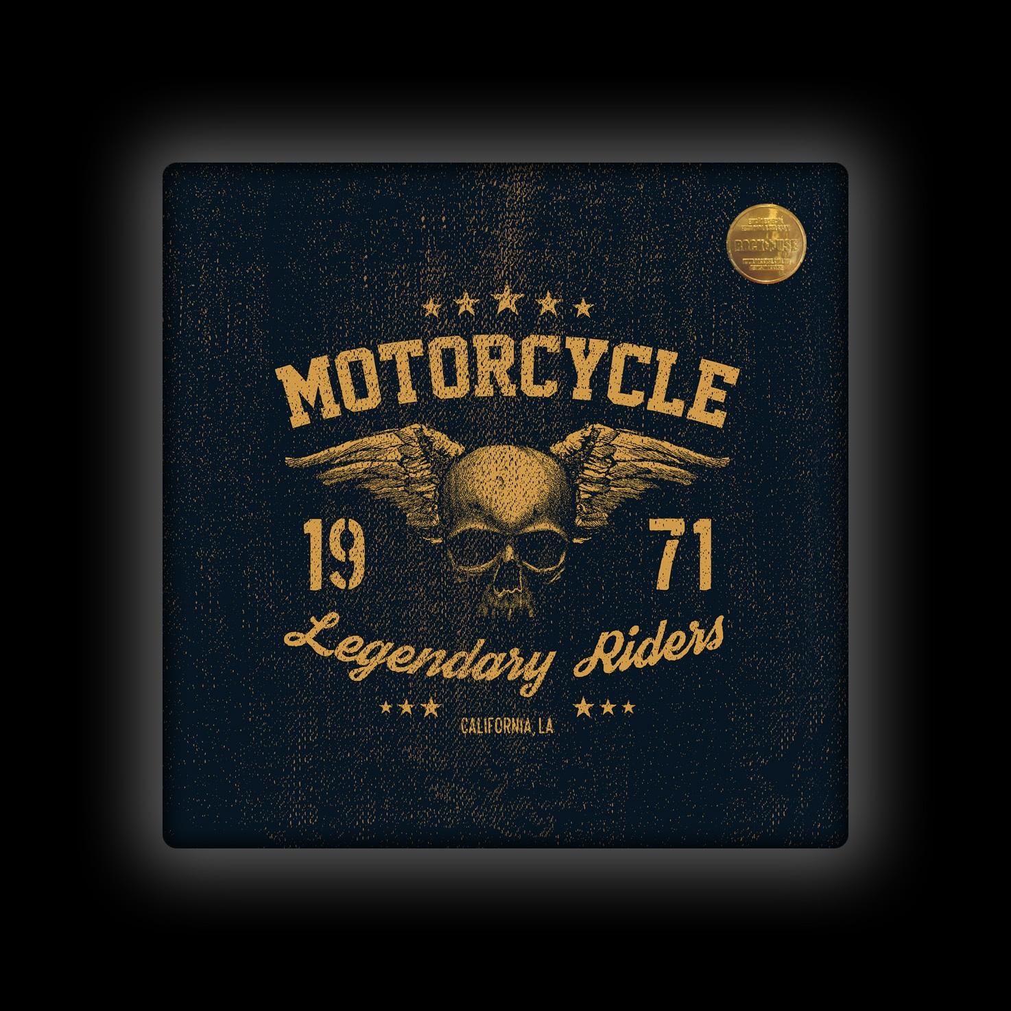 Capa de Almofada Rock Use - Legendary Riders