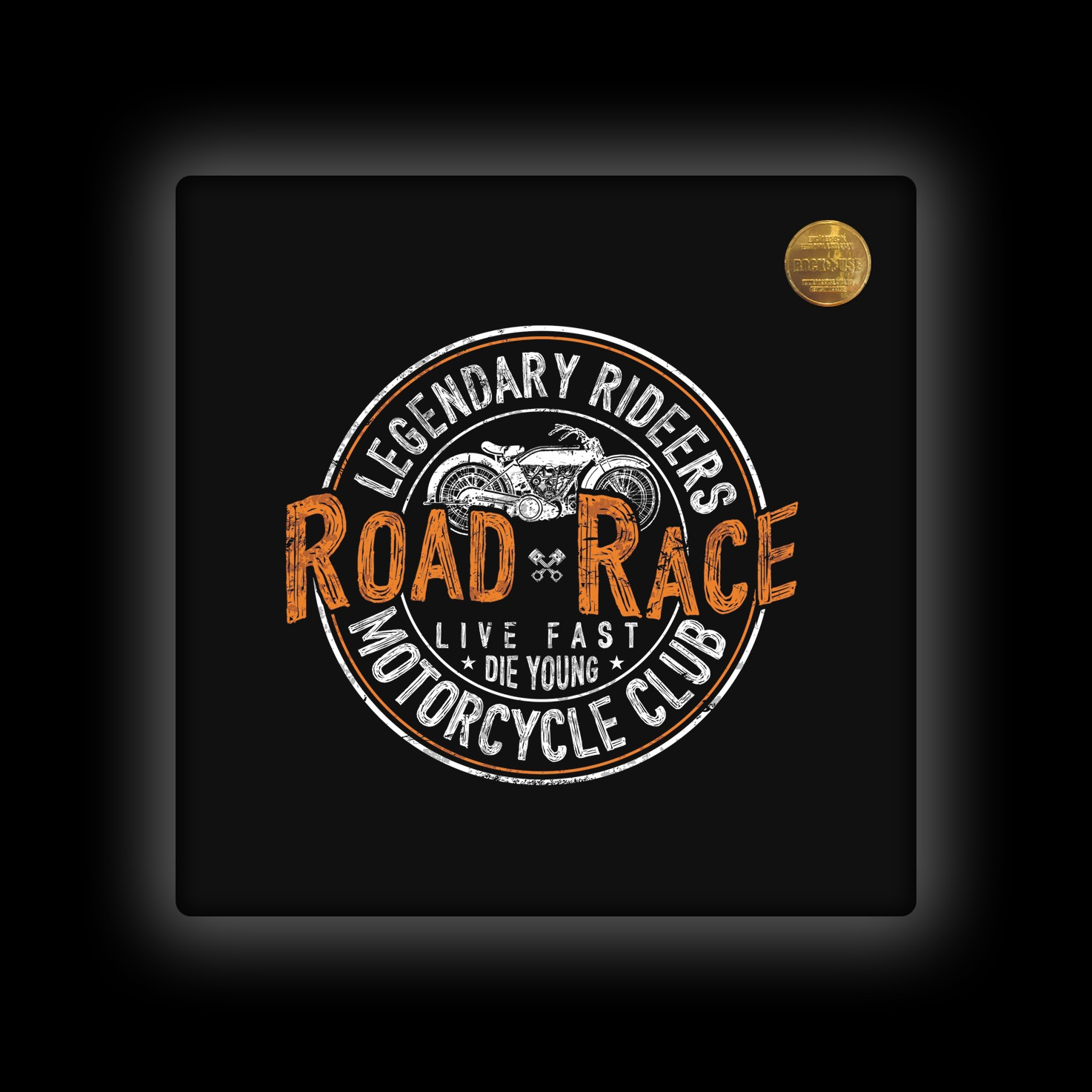 Capa de Almofada Rock Use - Live Fast Die Young
