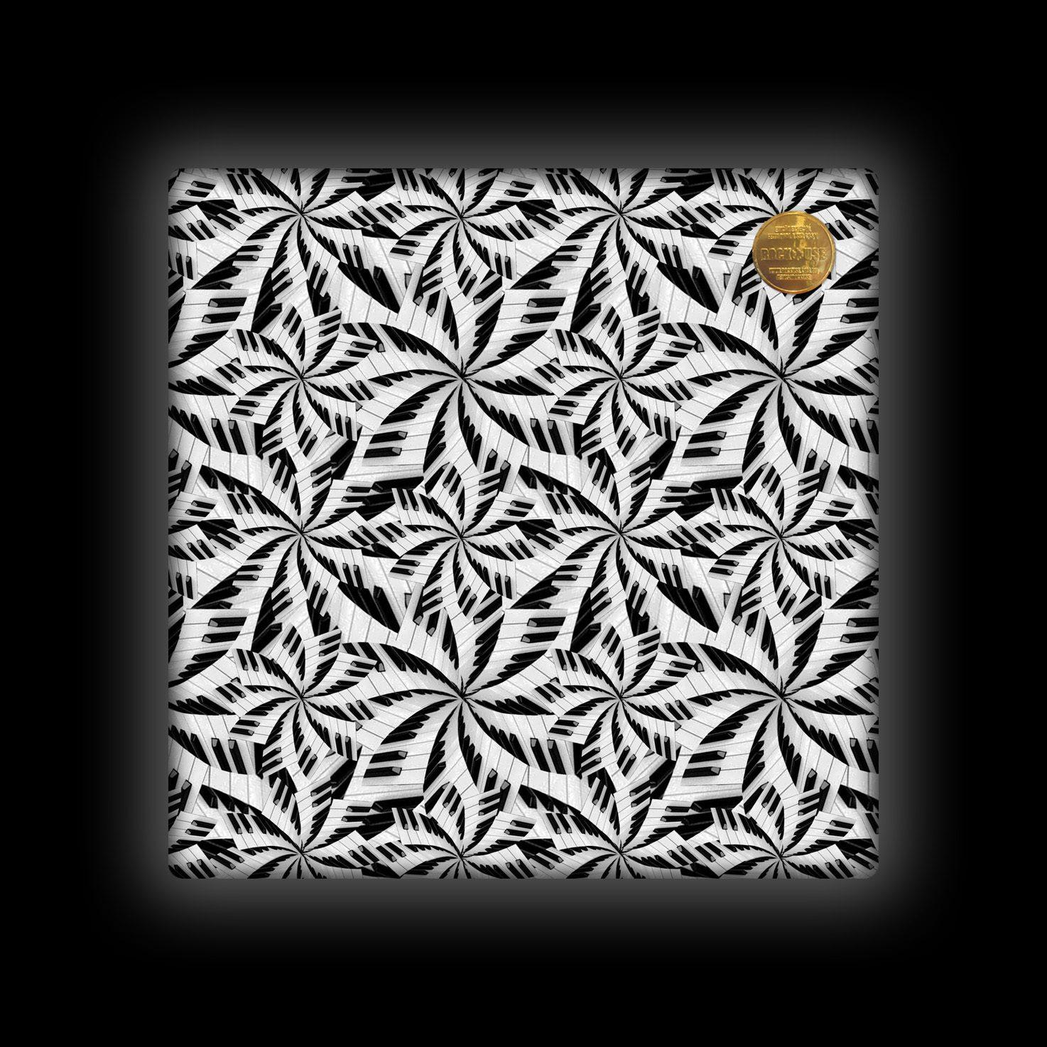Capa de Almofada Rock Use - Teclado Tropical 1