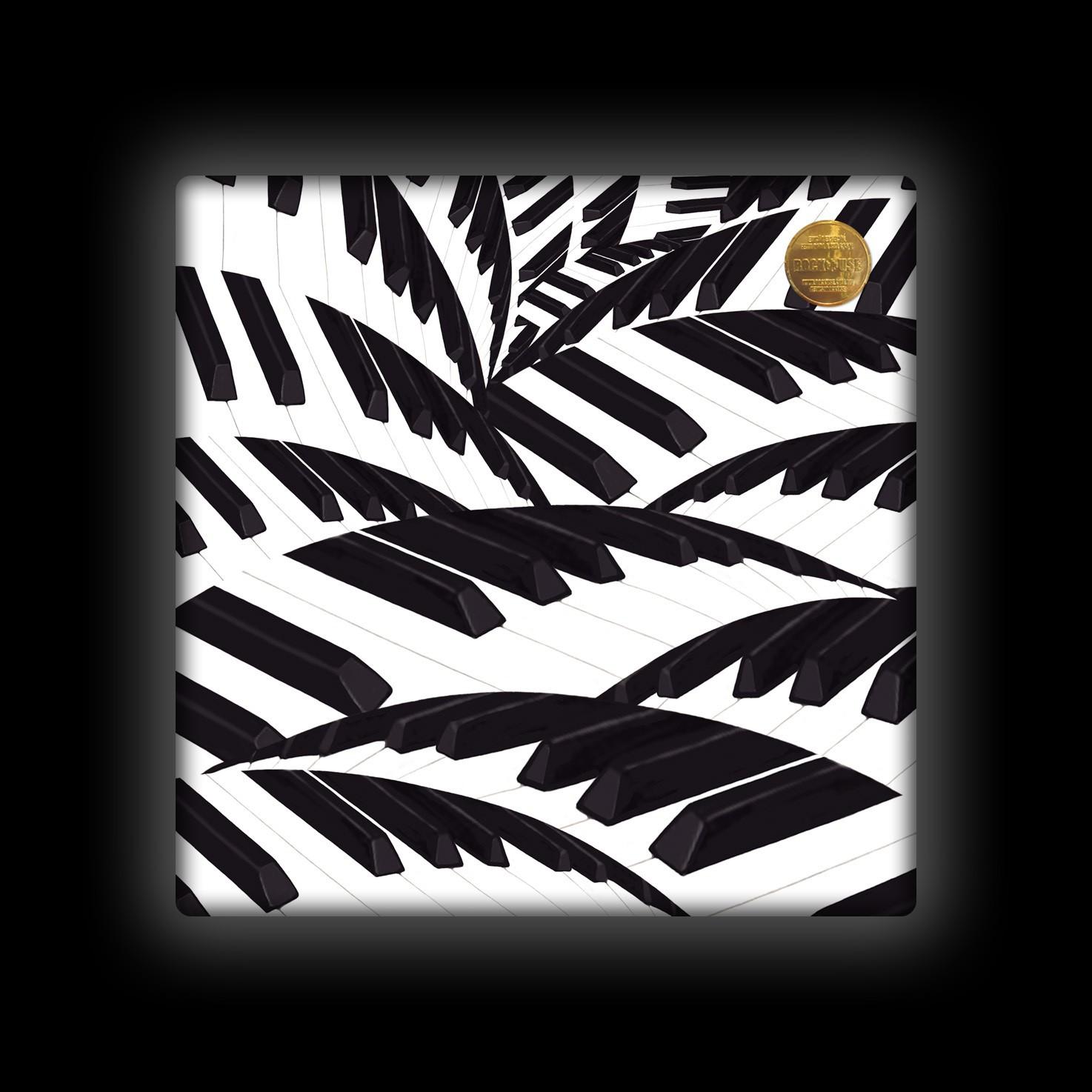 Capa de Almofada Rock Use - Teclado Tropical 2