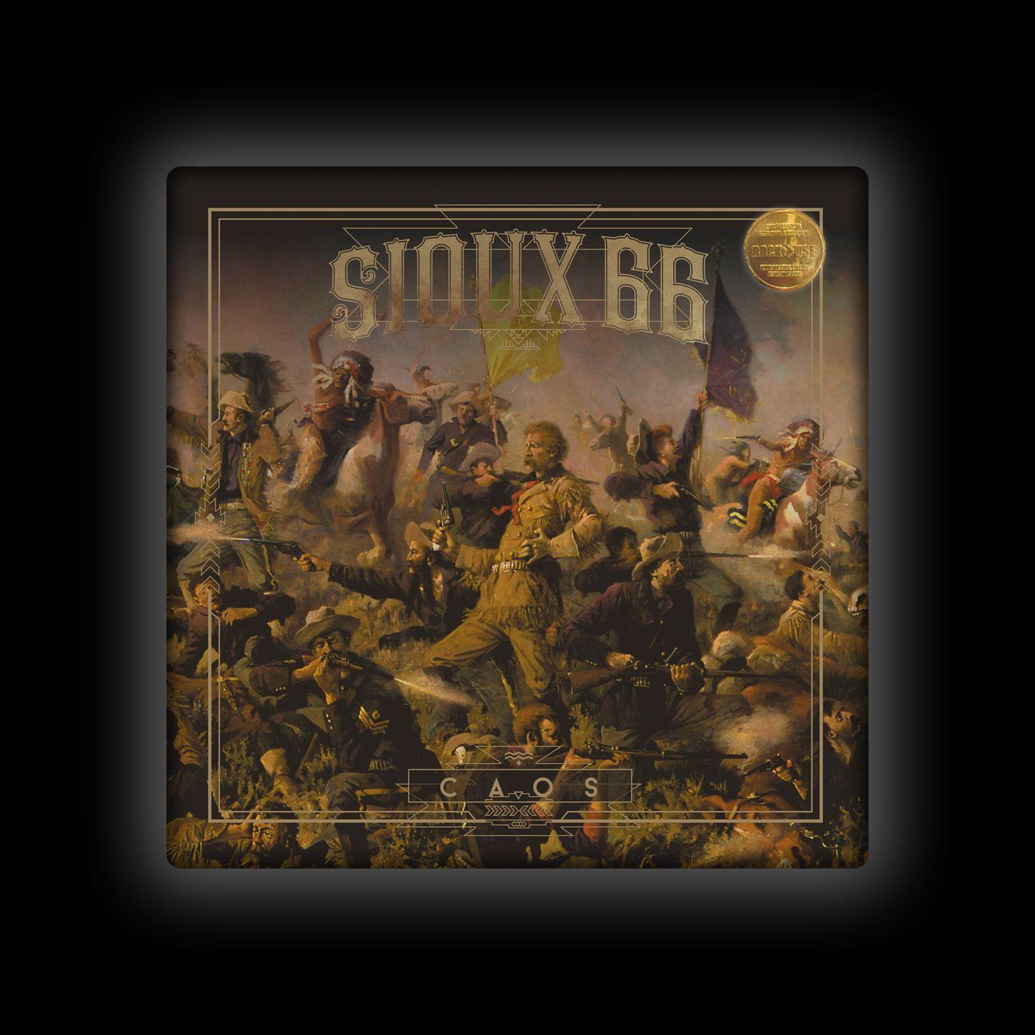 Capa de Almofada Sioux 66 - Caos