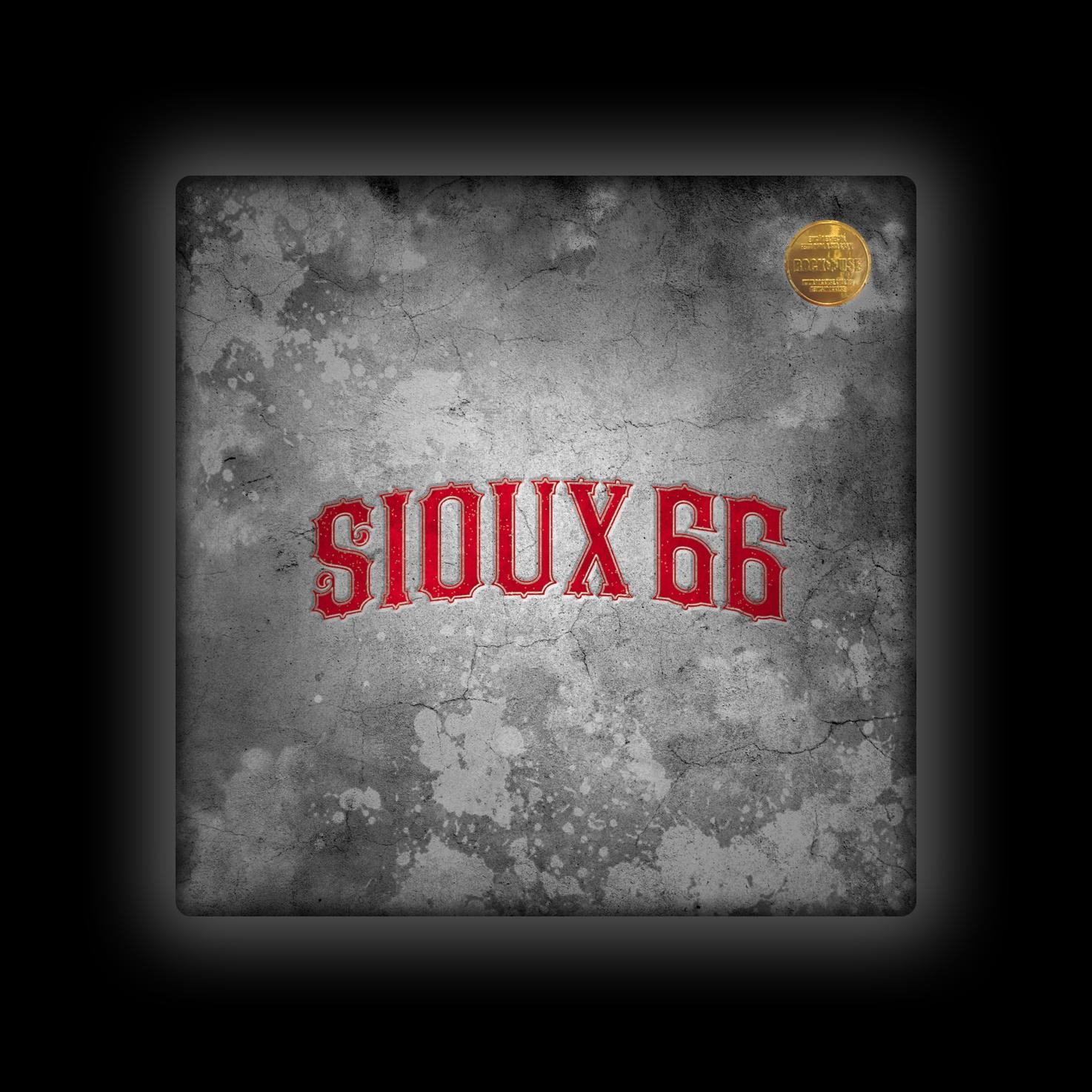 Capa de Almofada Sioux 66 - Logo