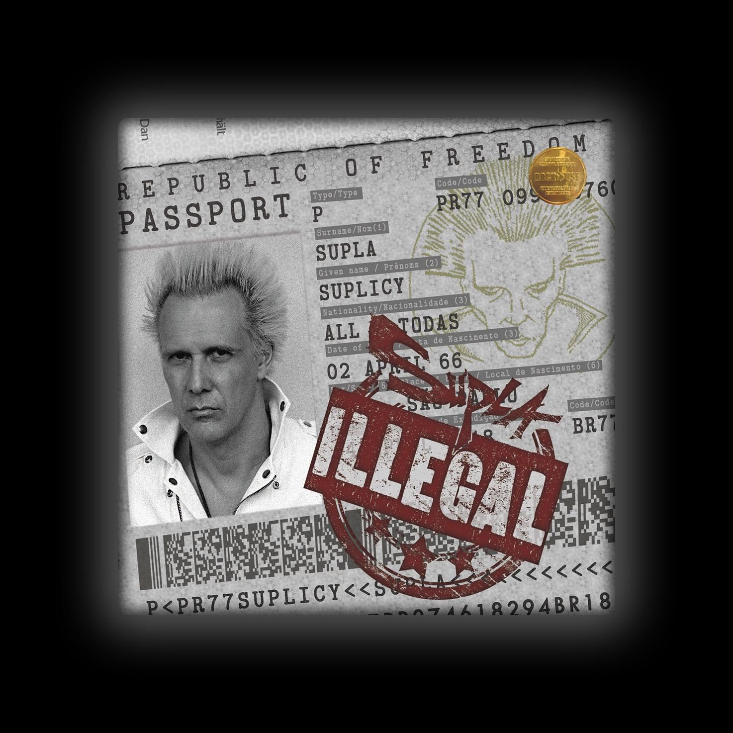 Capa de Almofada Supla - Illegal