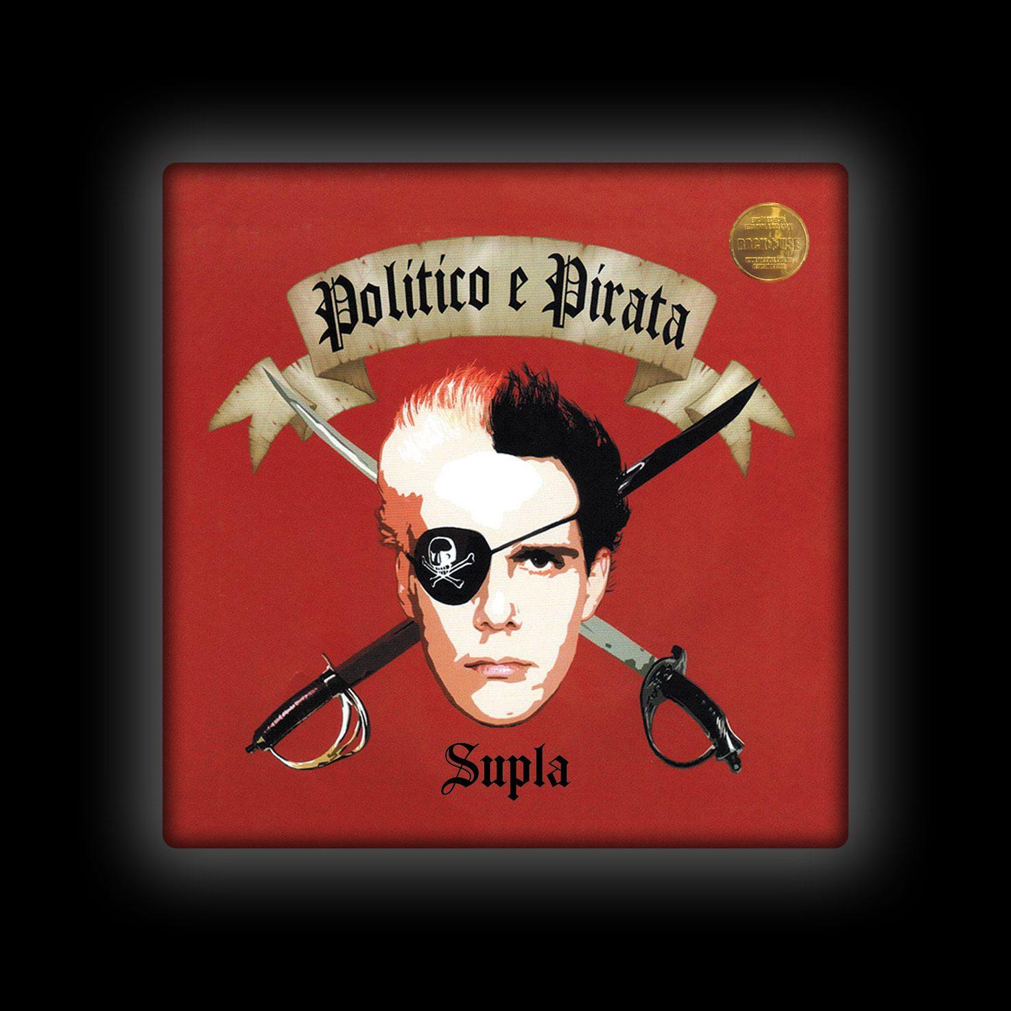 Capa de Almofada Supla - Político Pirata