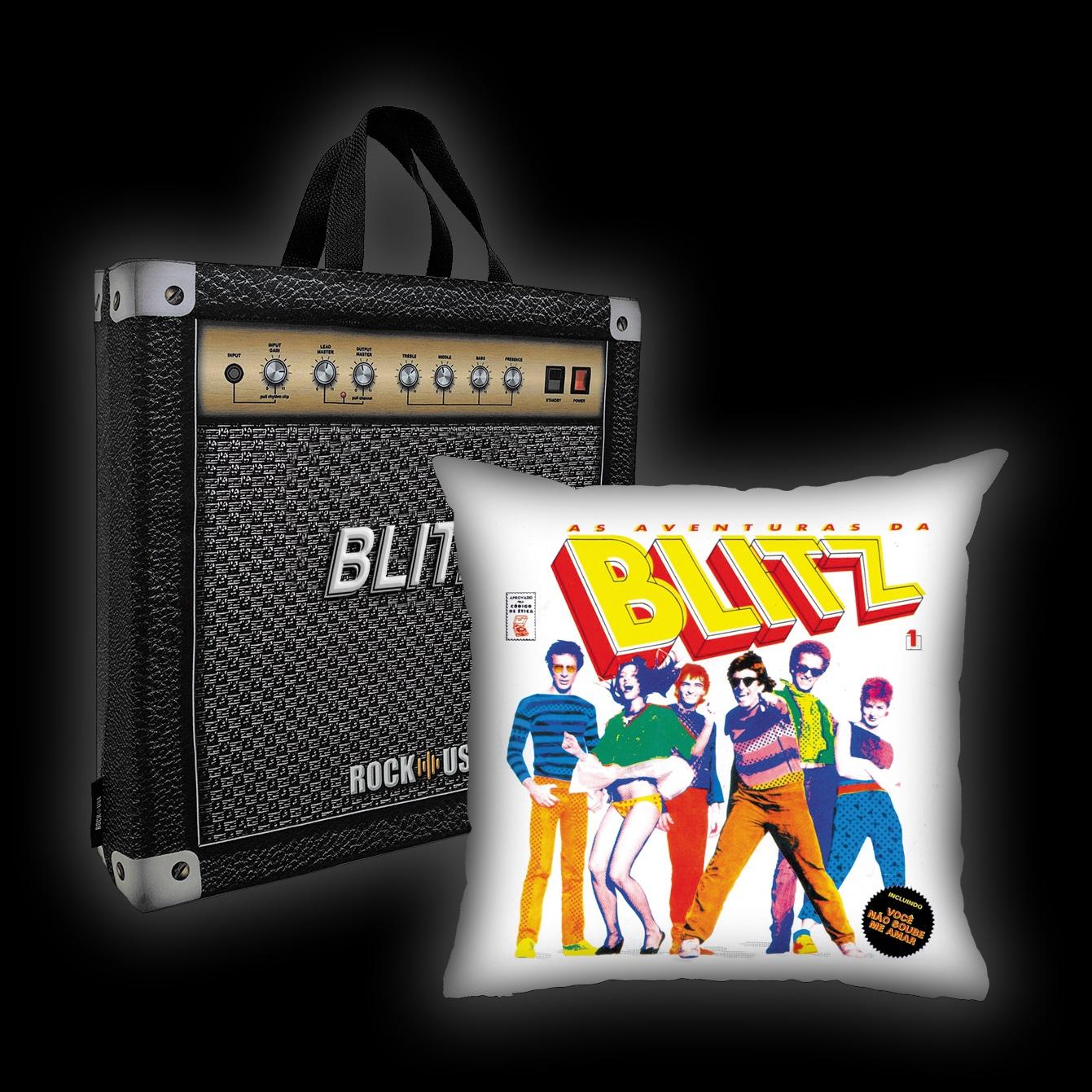 Kit Almofada + Sacola Blitz - As Aventuras da Blitz