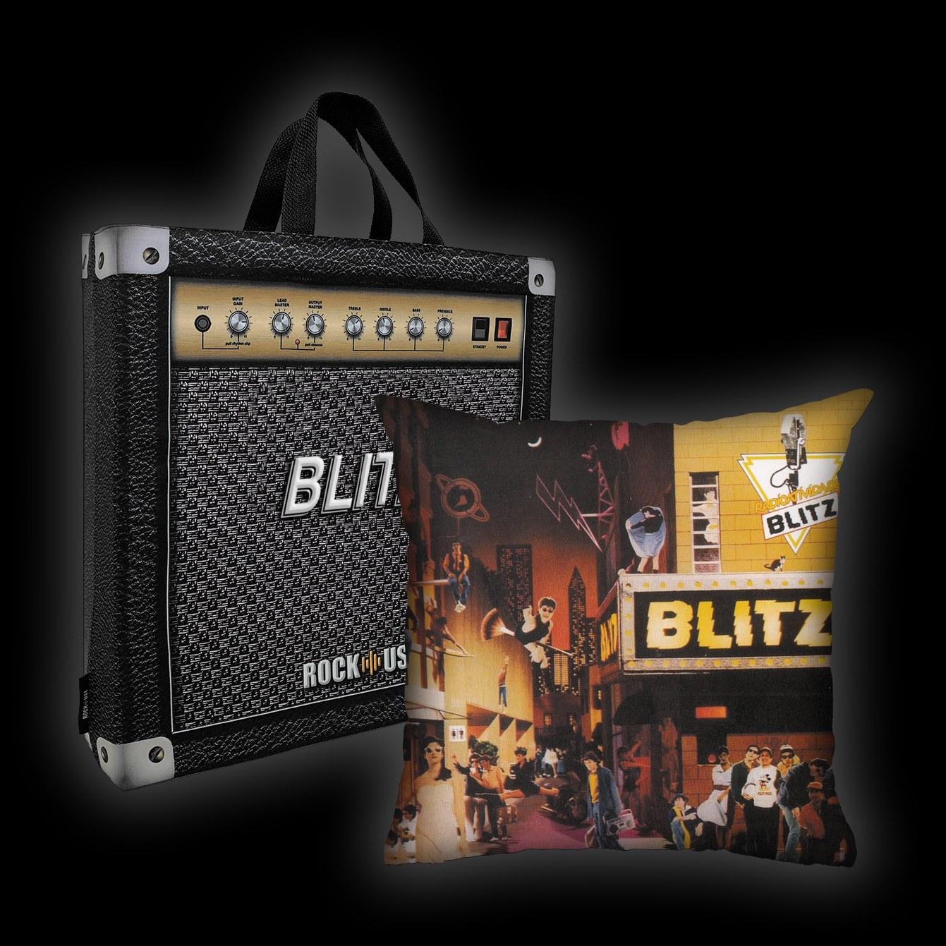 Kit Almofada + Sacola Blitz - Radioatividade