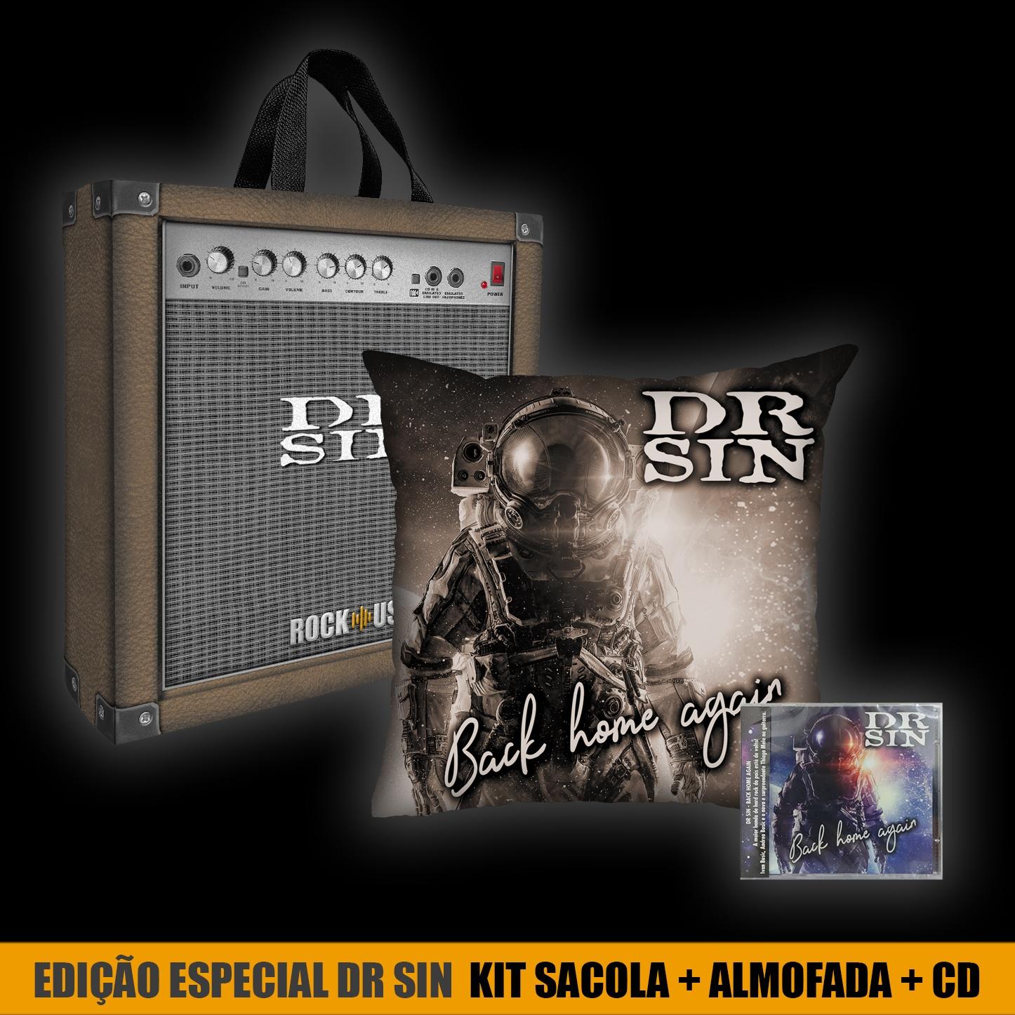 Kit Almofada+Sacola+CD Dr. Sin - Special Edition