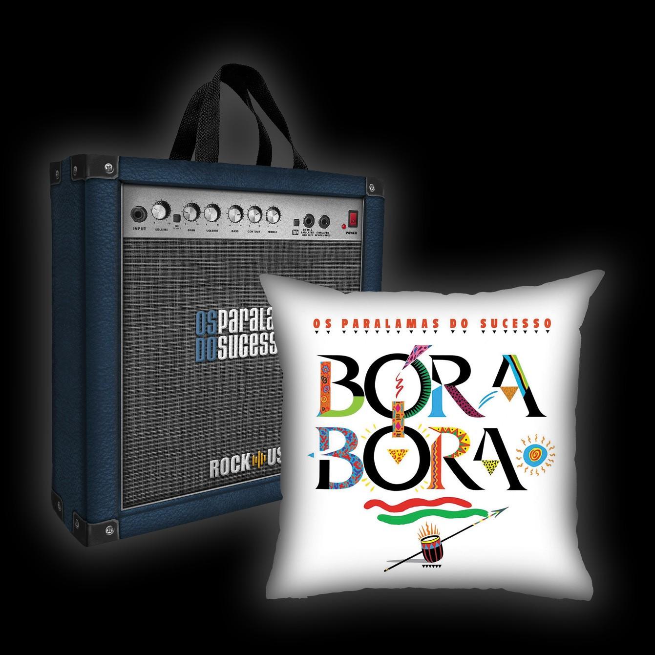 Kit Almofada + Sacola Paralamas do Sucesso - Bora Bora