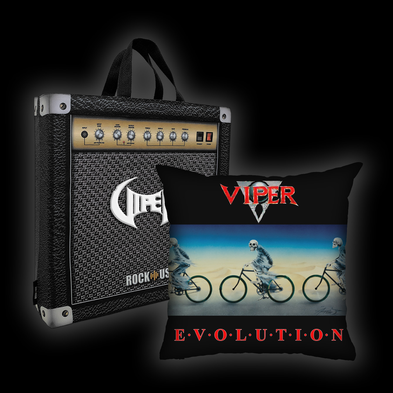 Kit Almofada + Sacola Viper - Evolution