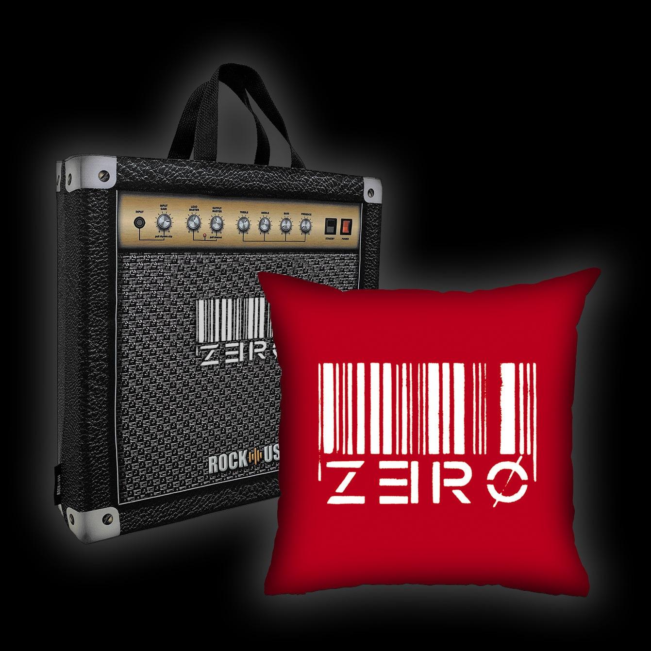 Kit Almofada + Sacola Zero - Code Zero (Vermelha)