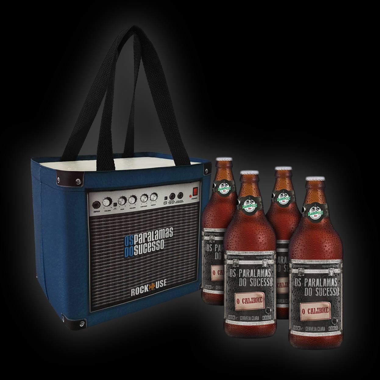 Kit Cerveja + Cooler com Sacola Paralamas do Sucesso