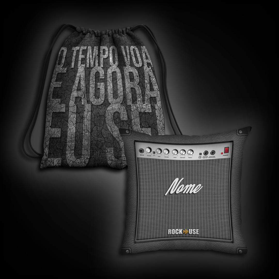 Kit Sacochila & Almofada Customizada - Zero