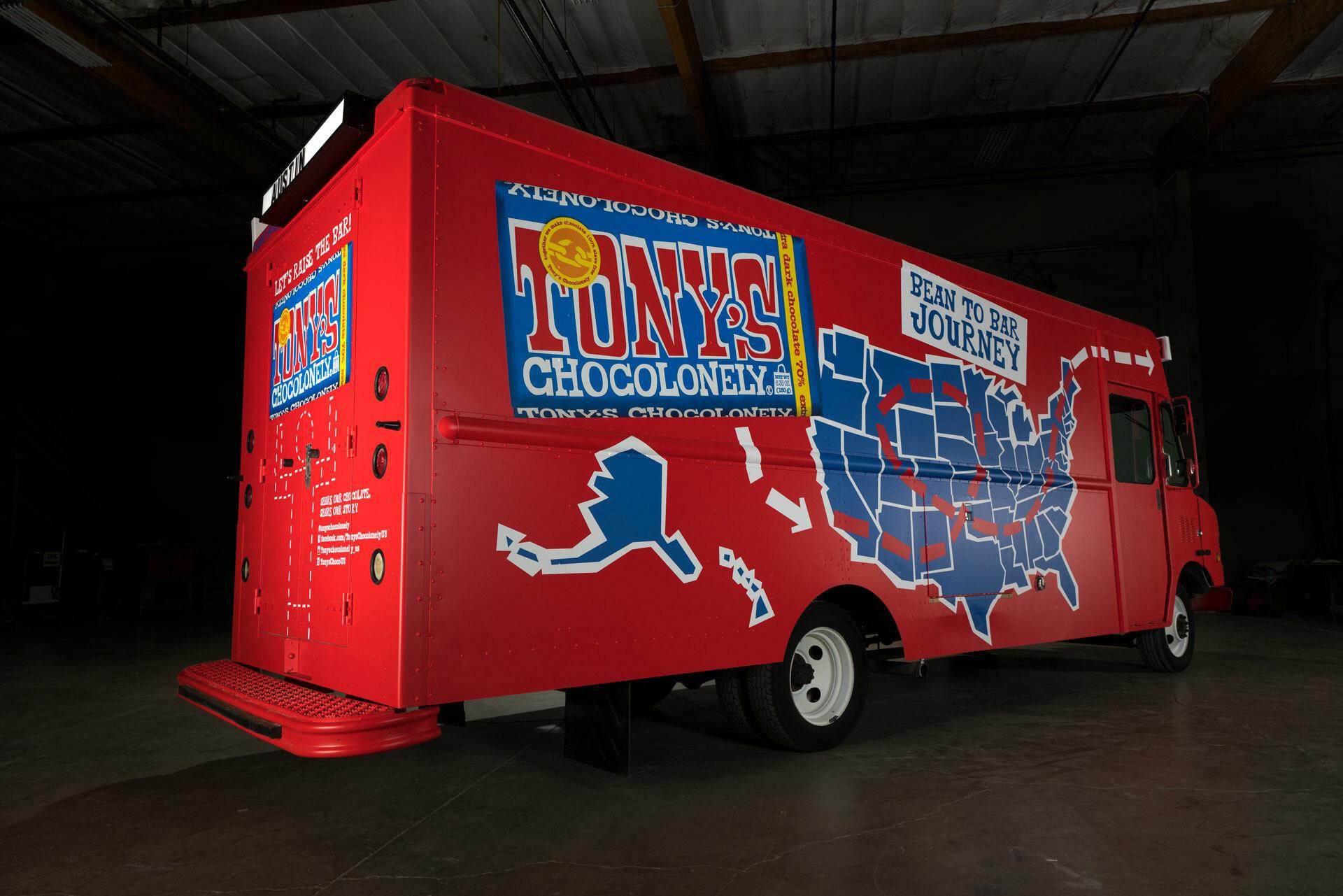 Choco Truck map