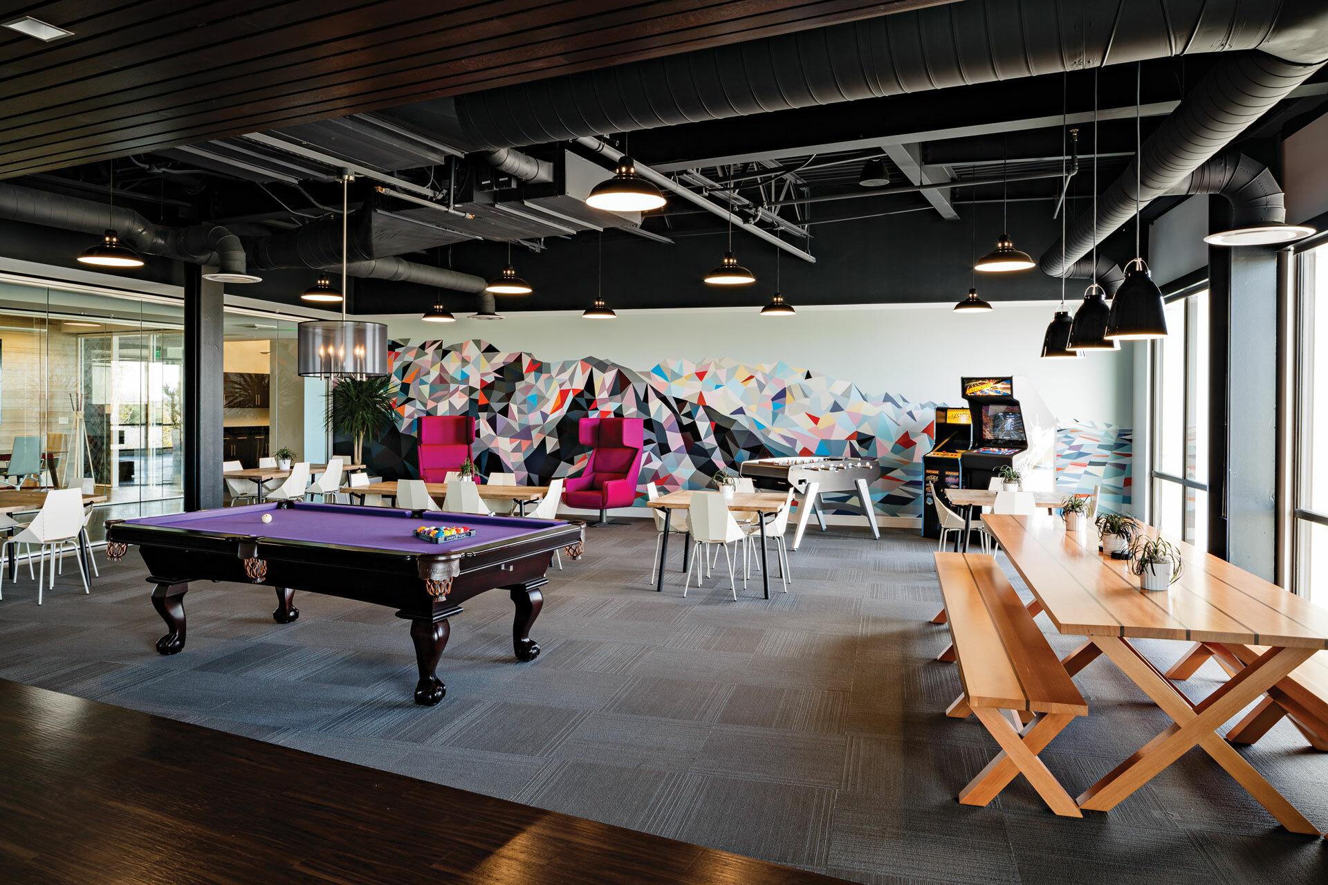 Pluralsight HQ Game Room