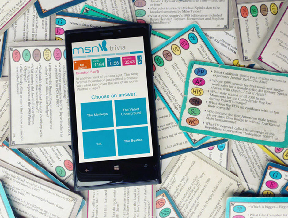 MSN Tour 2 C Trivial Pursuit
