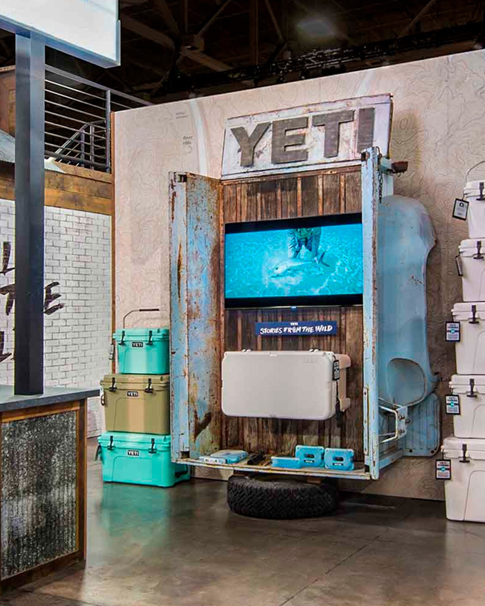 Yeti Trade Show Booth C1 R3 V1