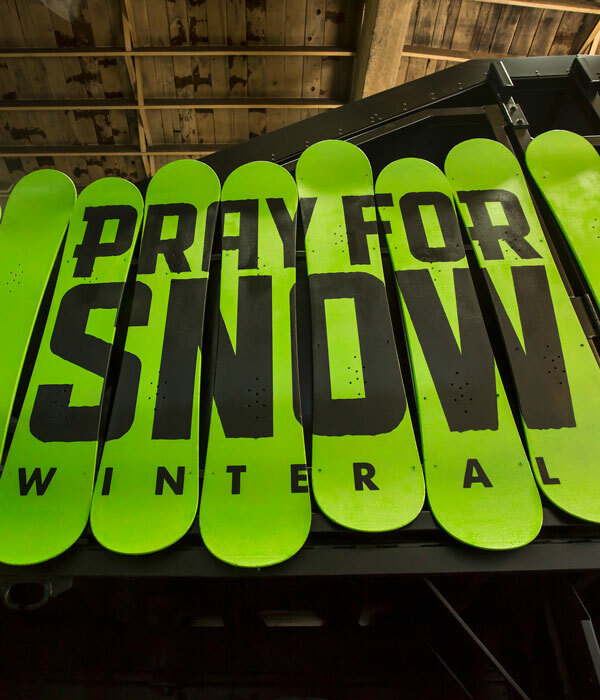 Pray For Snow Truck
