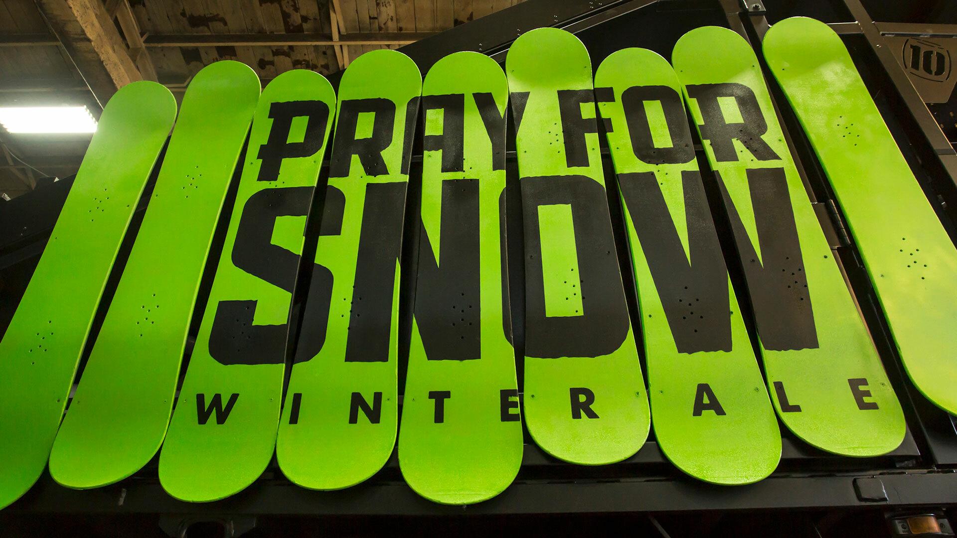 Pray For Snow Truck