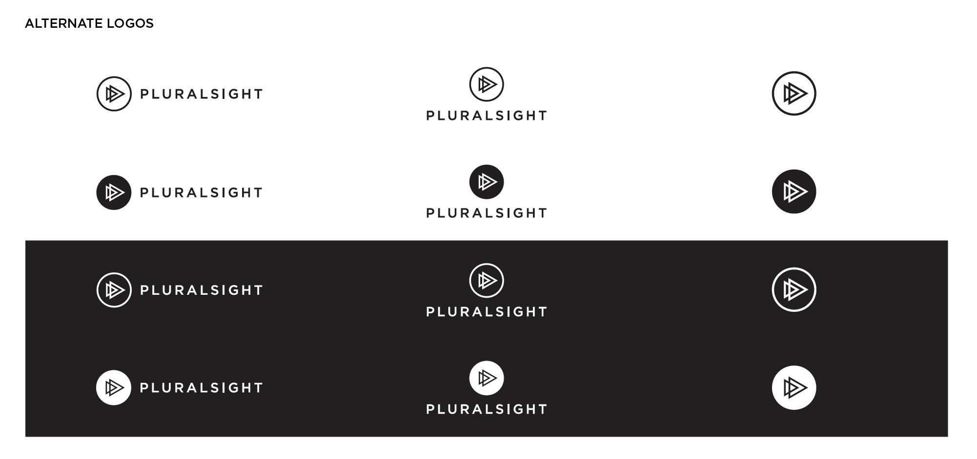 Pluralsight Alt Logos