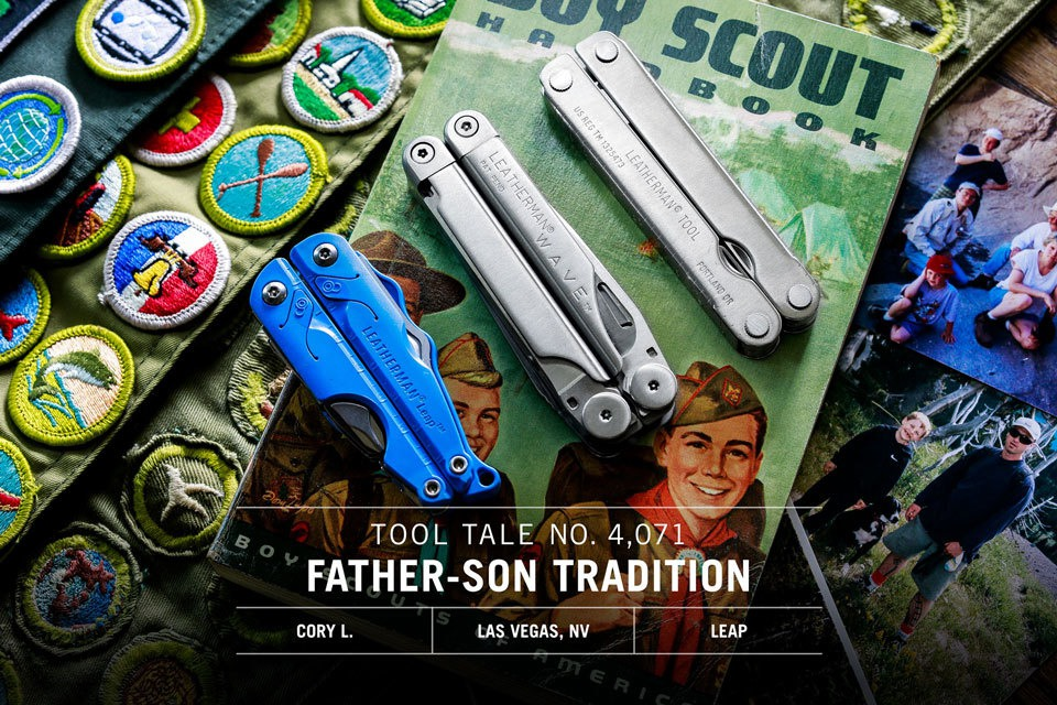 Leatherman TT Social Content June Father Son Tradition V1 FBIGTW