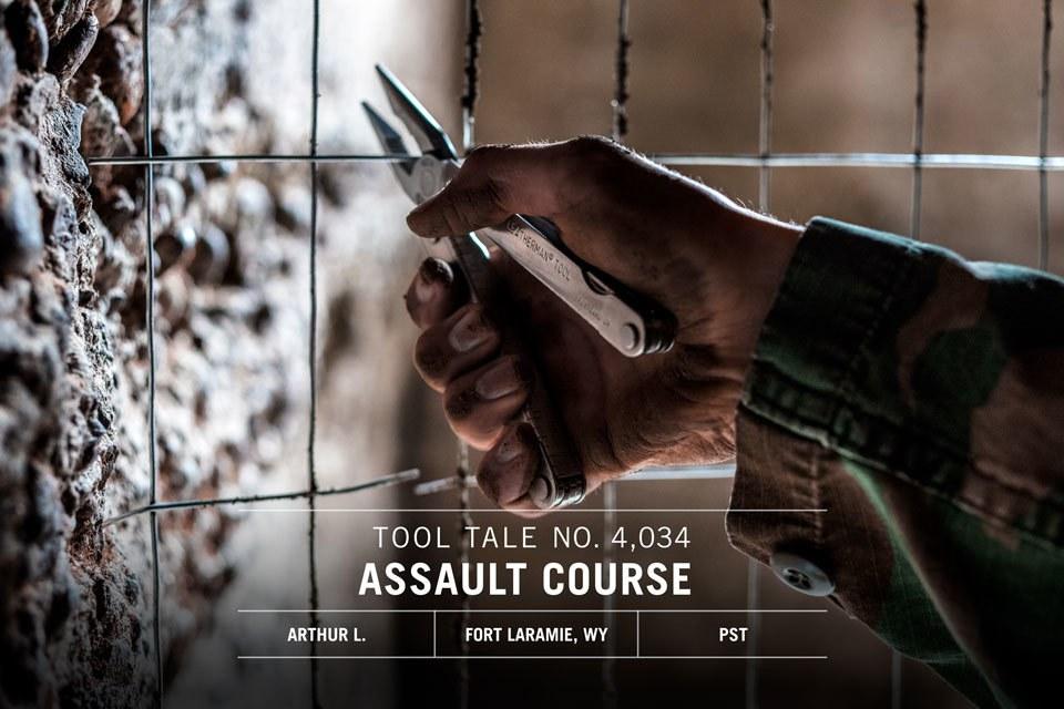 Leatherman TT Social Content May Assault Course IGFBTW