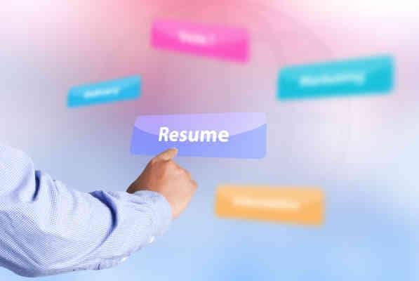 Resume for Marketing jobs