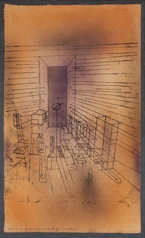 PAUL KLEE « Chambre du revenant à la grande porte»