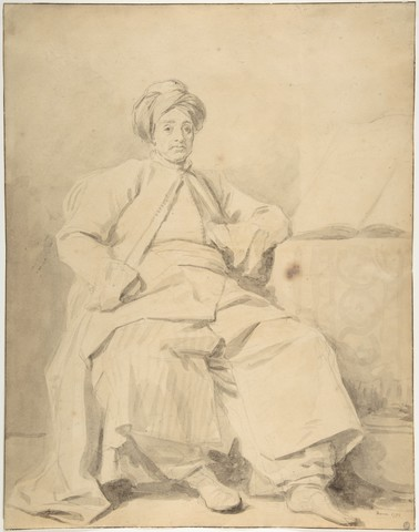 JEAN HONORÉ FRAGONARD «Le sultan»
