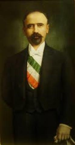 Madero postulándose a sí mismo como presidente