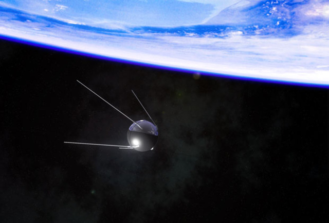 First Artificial Satellite is Launched