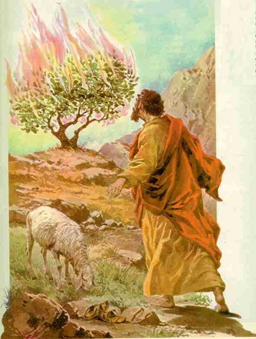 Dios llama a Moisés