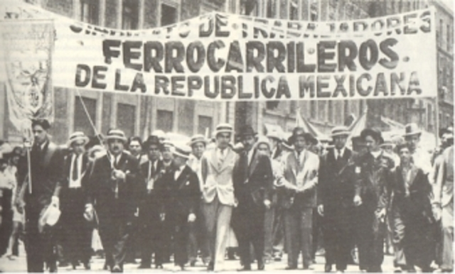 Huelga deFerrocarrileros