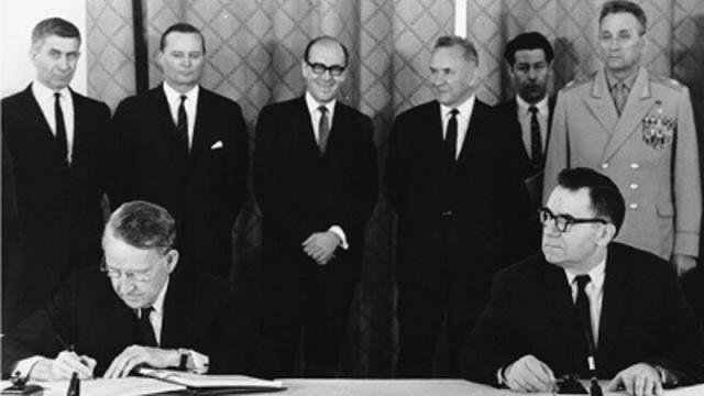 Tratado Internacional de no Proliferación Nuclear.