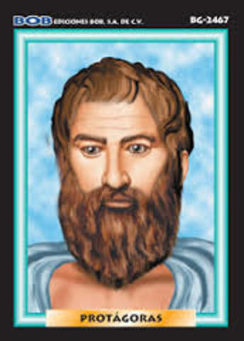 Protágoras de Abdera (480 - 410 a.C.)