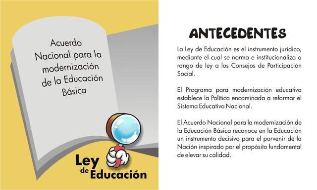 Programa de modernización de la educación