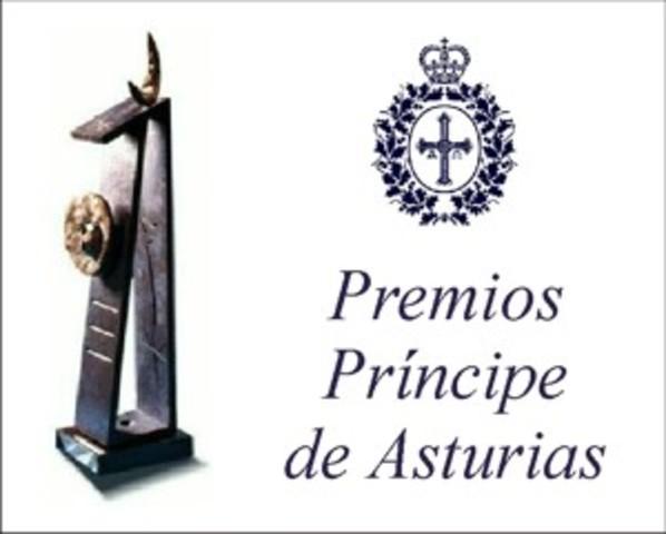 premio al Príncipe de Asturias.