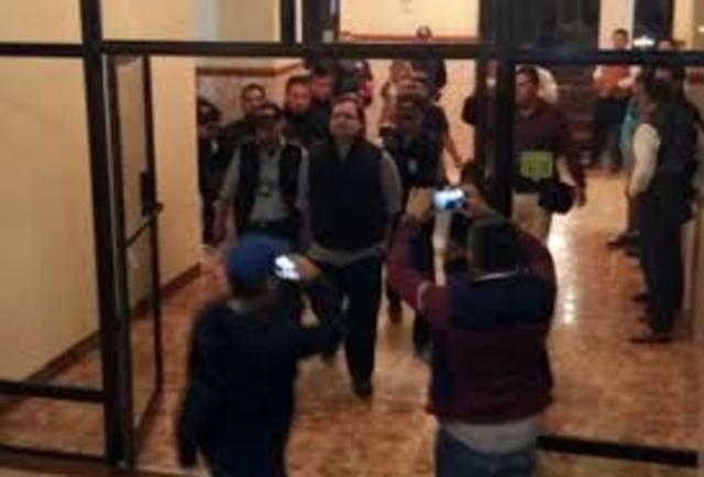 detención del exgobernador de Veracruz