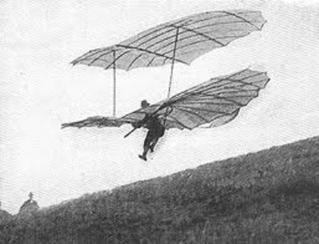First Successful Gliding Flights