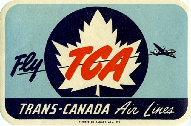Trans-Canada Airlines Opens