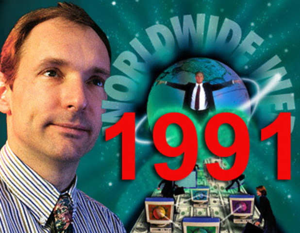 Tim Berners Lee, Crea la Word Wide Web.